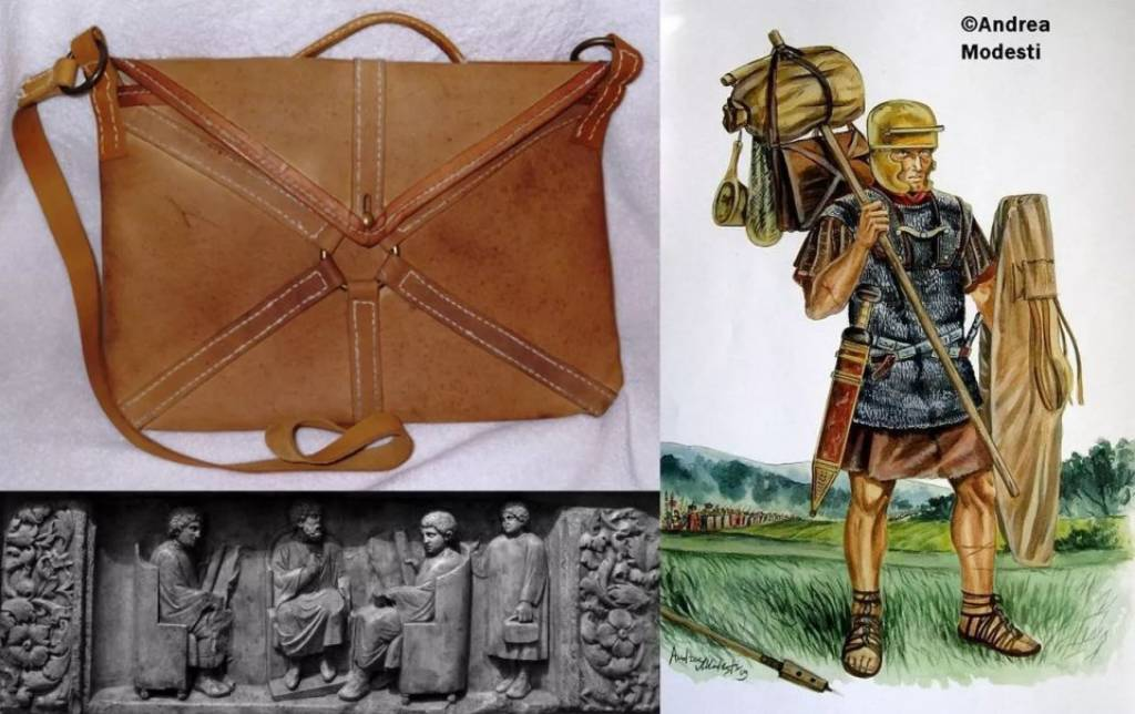 Римский локулус. История рюкзака