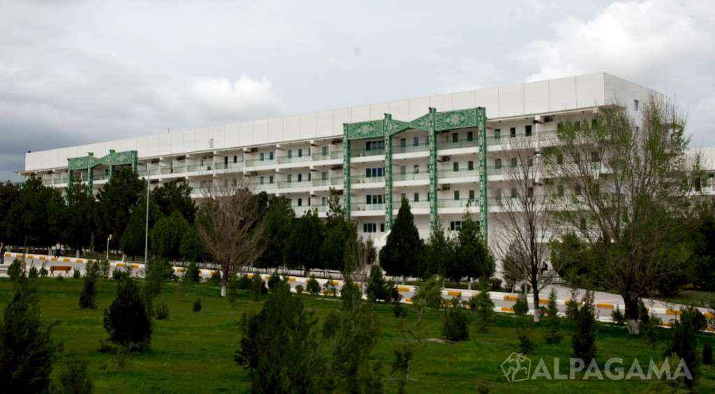 Реконструированные корпуса санатория Арчман
