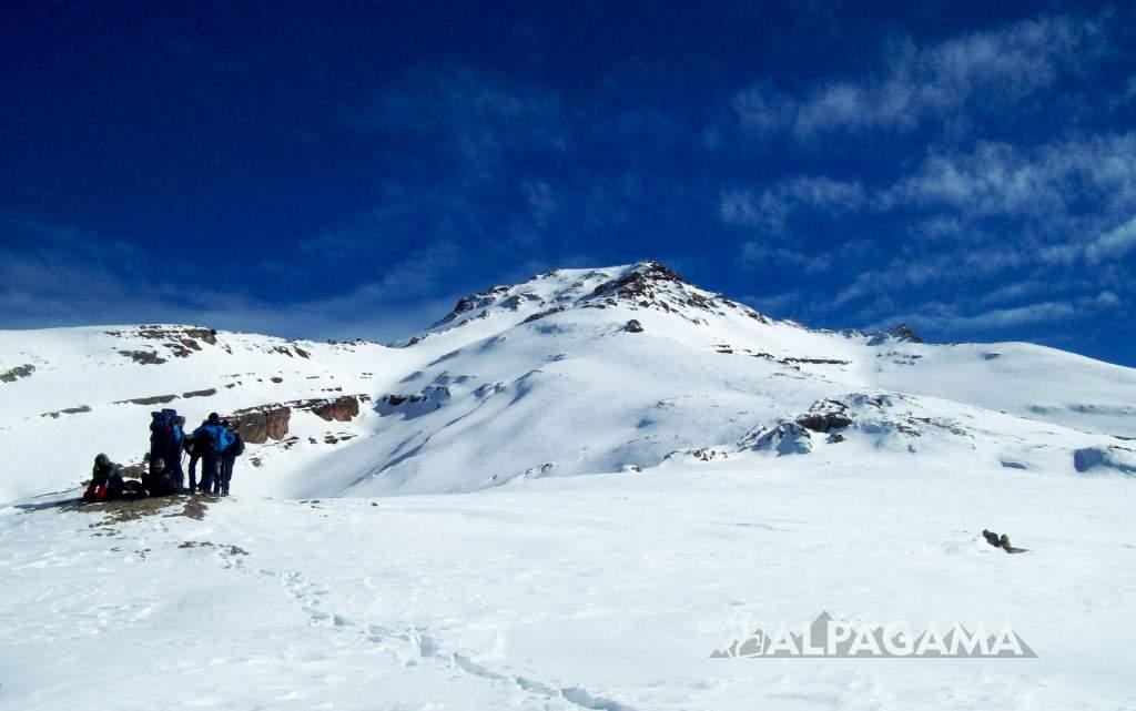 Хребет Койтендаг зимой