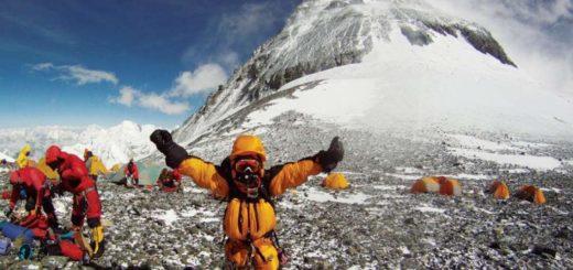 4 высотный лагерь на Эвересте