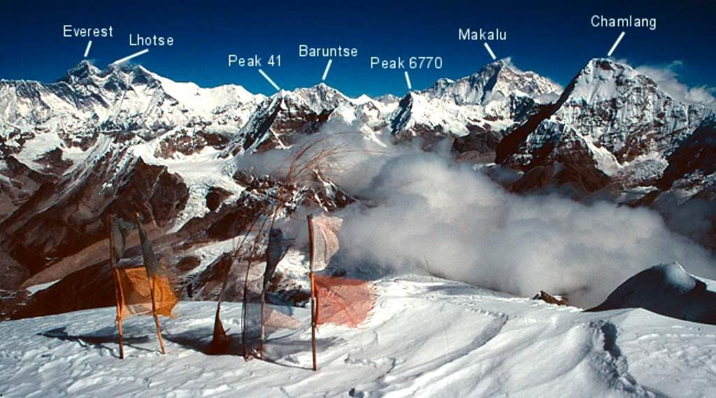 Эверест среди восьмитысячников Гималаев