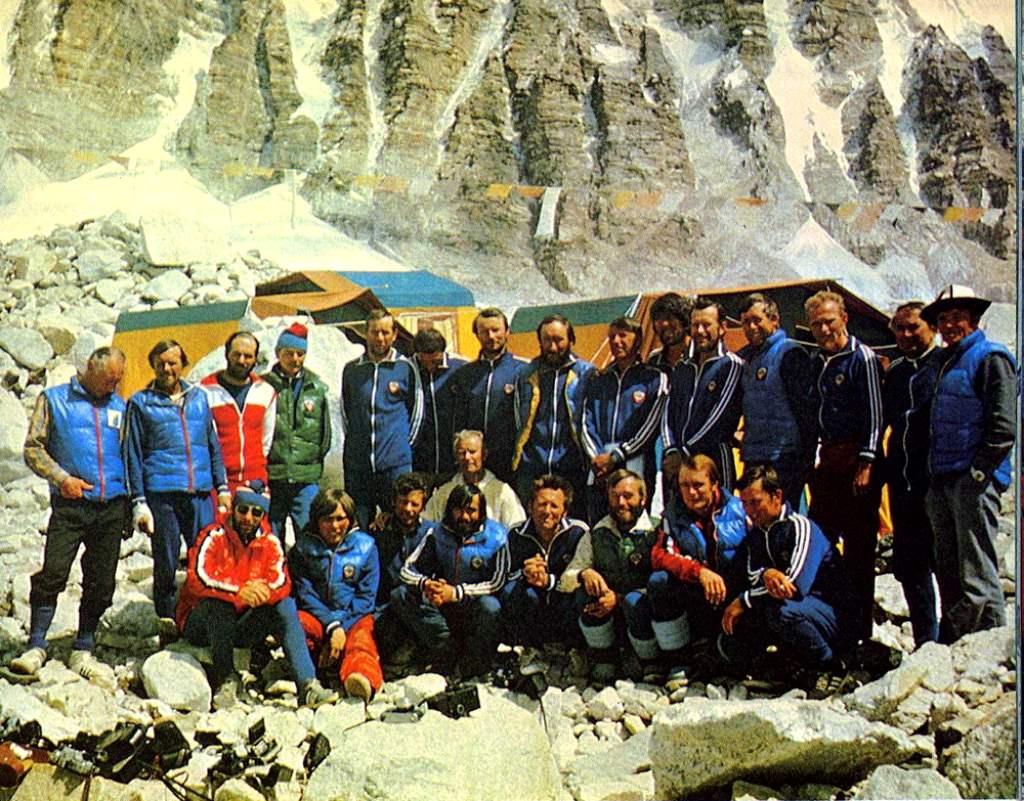 Советская экспедиция на Эверест