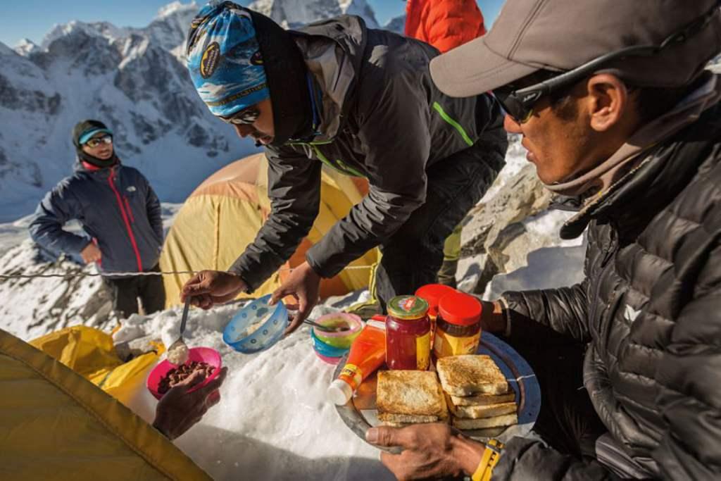 Завтрак на высоте