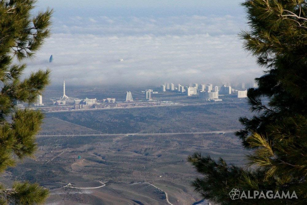Панорама Ашхабада