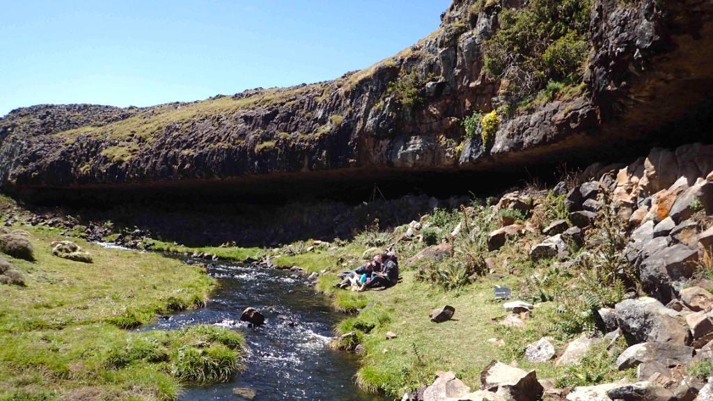 Люди высокогорья 45 тысяч лет назад