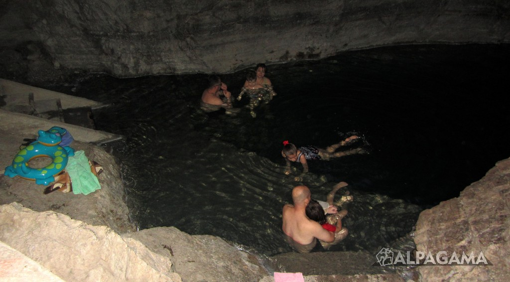 Бахарденское подземное озеро Ков-ата