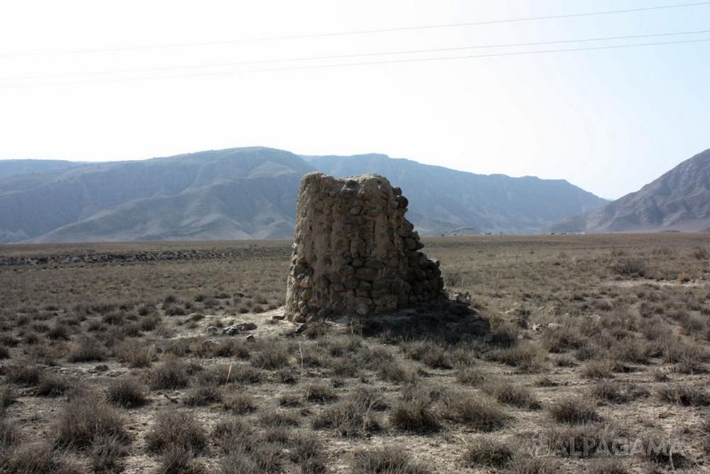 Гермаб. Старые пограничные башни