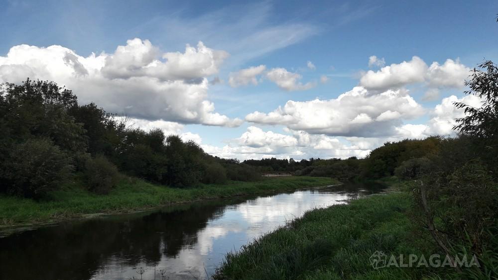 Спрямление реки Уводь