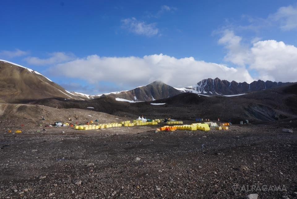 Лагерь 1. Высота 4400м