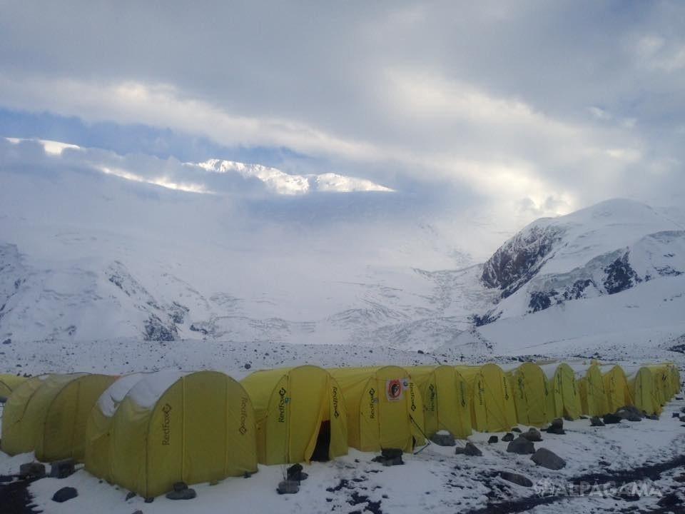 Лагерь 1. 4400м (Пик Ленина)