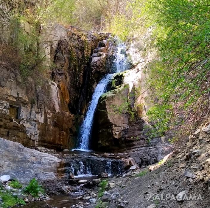 Первый Хрустальные водопад около Нохура