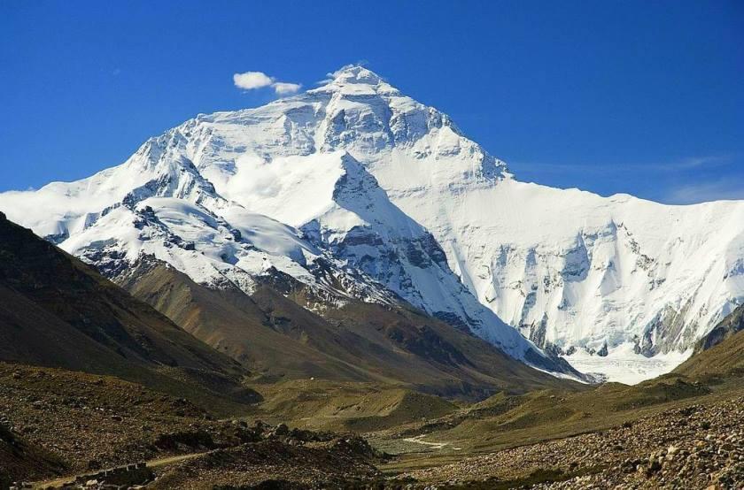 Эверест, северный склон со стороны Китае