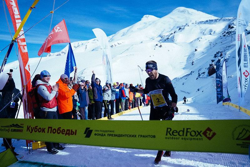 Виталий Чернов, победитель Вертикального километра Red Fox Elbrus Race (фото: Никита Клюквин)
