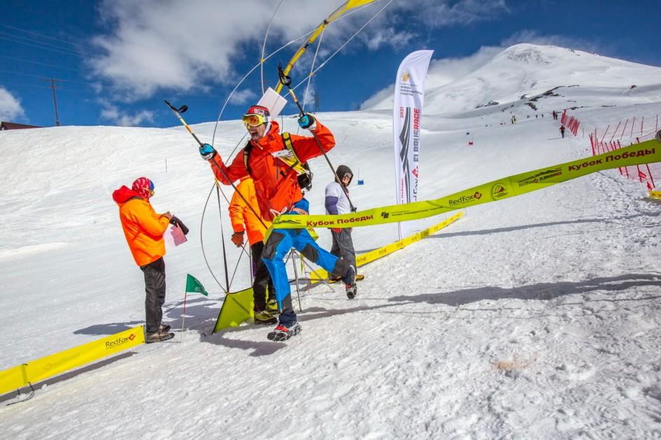 В высотной гонке, стартовавшей с «Бочек» победу одержал Николай Шорохов из Тюмени