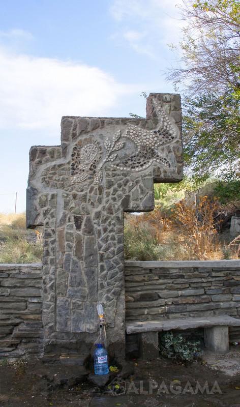 Источник, обустроенный болгарскими строителями