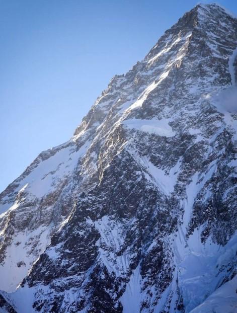 Западный хребет К2 (фото: Грэм Циммерман)