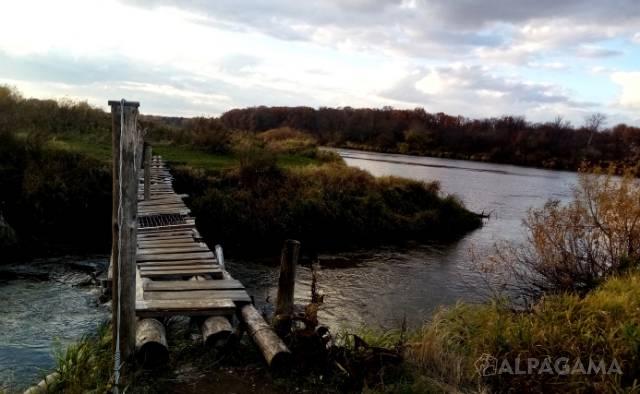 Нерехта впадает в Клязьму - устье реки