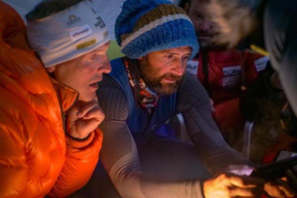Алекс Тикон и Симоне Моро в зимней экспедиции на Манаслу в сезоне 2020/2021 года