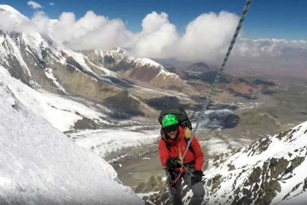 В горах на территории Таджикистана пропал россиянин Александр Маслов (фото:СОЦСЕТИ)
