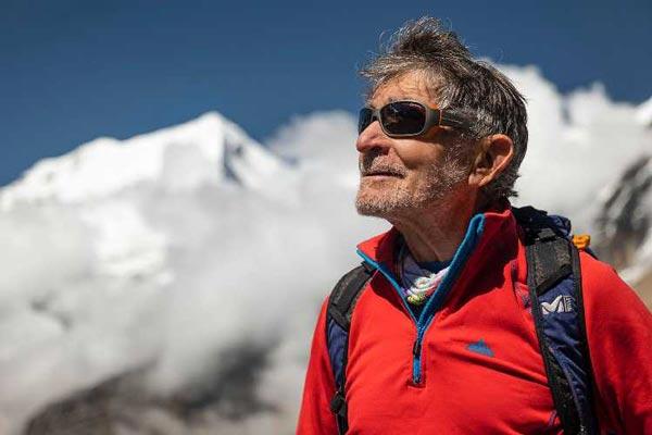 Карлос Сория в базовом лагере восьмитысячника Дхаулагири (8167 м) (фото: Luis Miguel Soriano)
