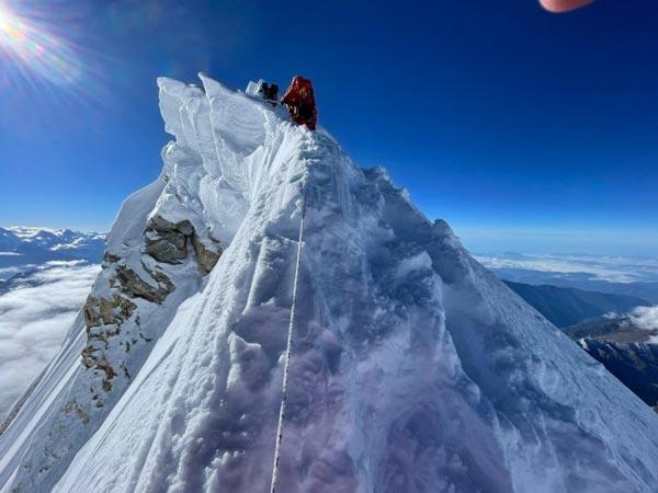 Гребень вершины Манаслу