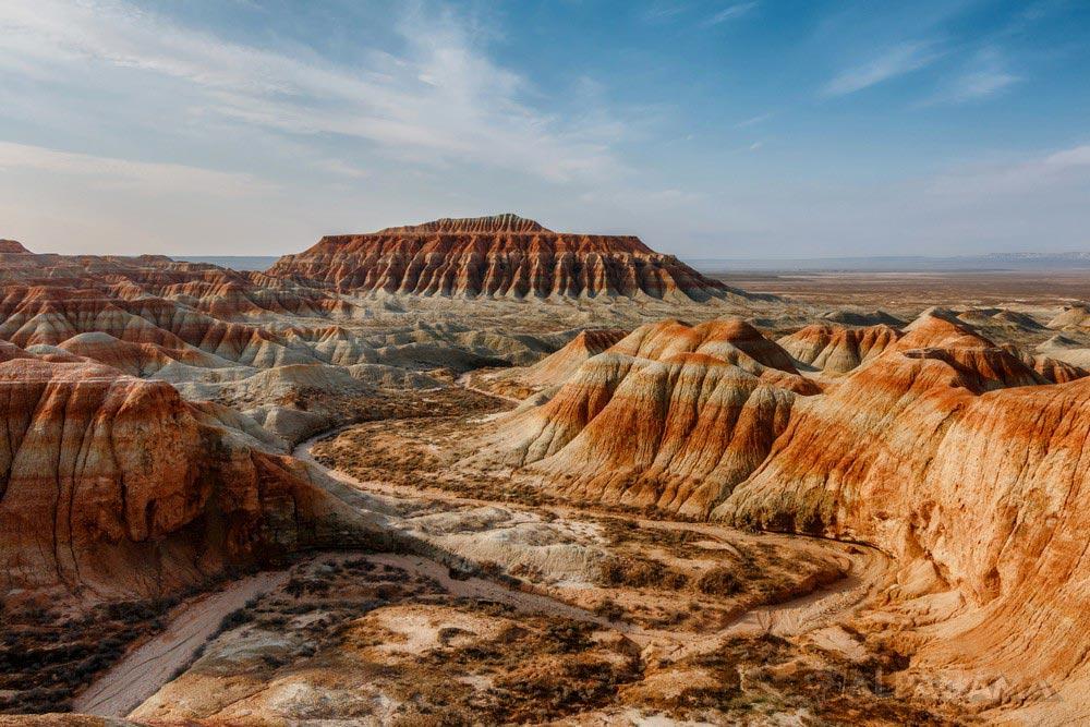 Янгы-Гала. Извилистые тропы каньона (Кирилл Снарев)