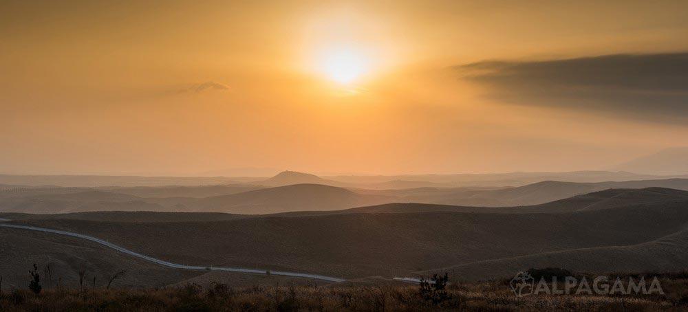 Рассвет на Саглык елы (Светлана Крупская)
